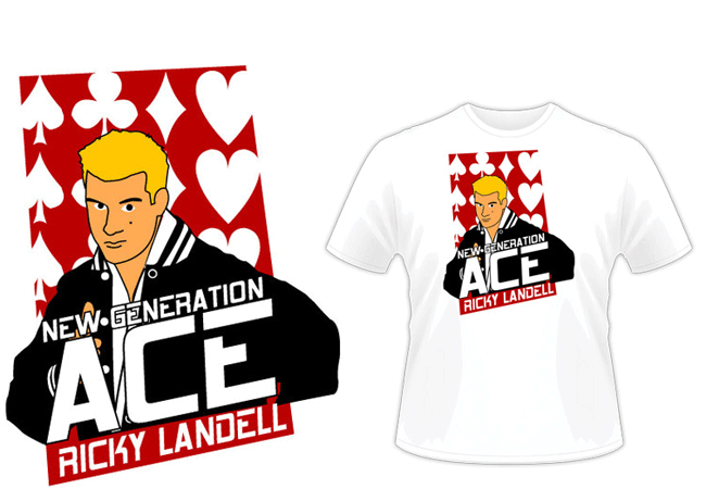 "Ricky Landell ""New Generation Ace"" Shirt"